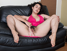 WeareHairy Wara Wara models her pink dress before stripping nude  [FULL PICSET Highres WEBRIP] WEB-DL