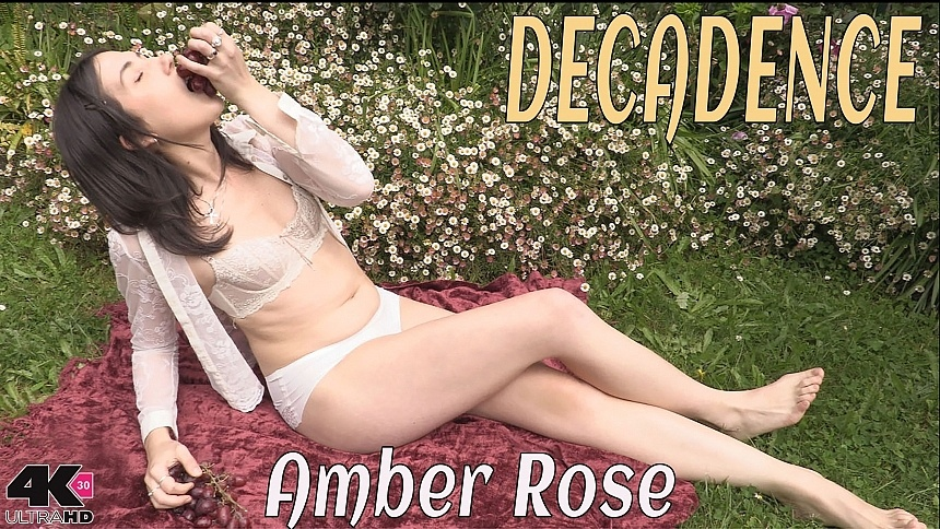 GirlsoutWest Amber Rose - Decadence  Video  Siterip 720p mp4 HD PORN RIP