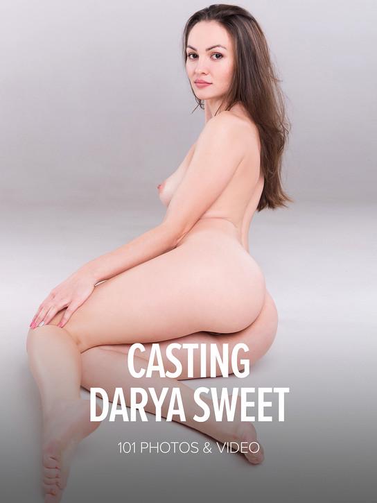 WATCH4BEAUTY DARYA SWEET in CASTING DARYA SWEET 27 DEC 2017 [IMAGESET MP16 W4B] WEB-DL