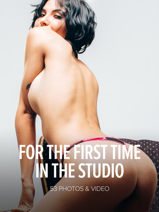 WATCH4BEAUTY NATALI LEON in FOR THE FIRST TIME IN THE STUDIO 1 DEC 2017 [IMAGESET MP16 W4B] WEB-DL