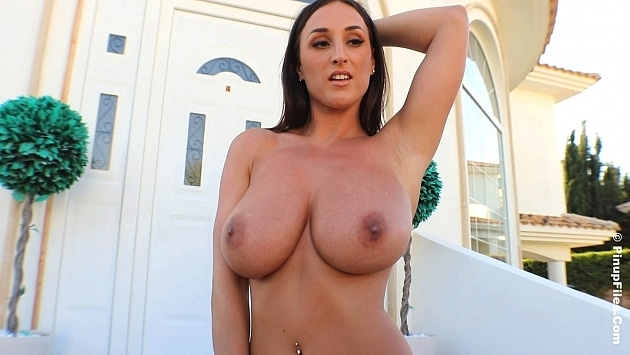 Pinupfiles Stacey Poole - Dark Silver Christmas 1  Siterip Video WEB-DL