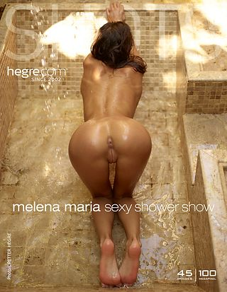 Hegre-Art Melena Maria sexy shower show  [Siterip FULL VIDEO/IMAGESET] WEB-DL