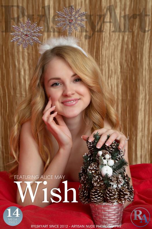 Rylskyart Alice May in Wish 24.12.2017 [IMAGESET FULLHD SITERIP] WEB-DL