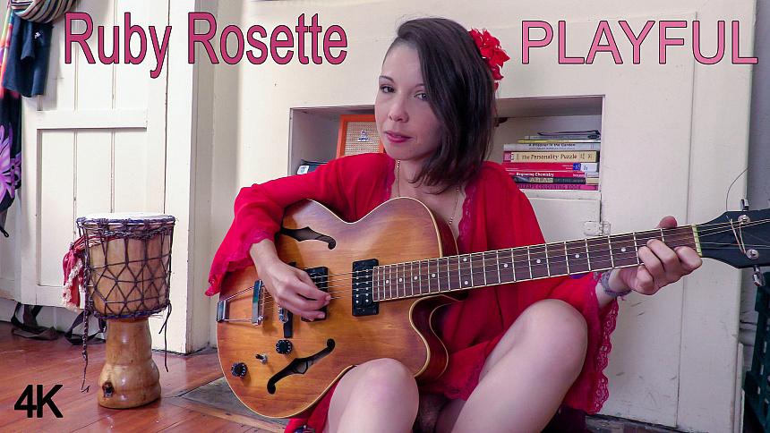 GirlsoutWest Ruby Rosette - Playful  Video  Siterip 720p mp4 HD PORN RIP