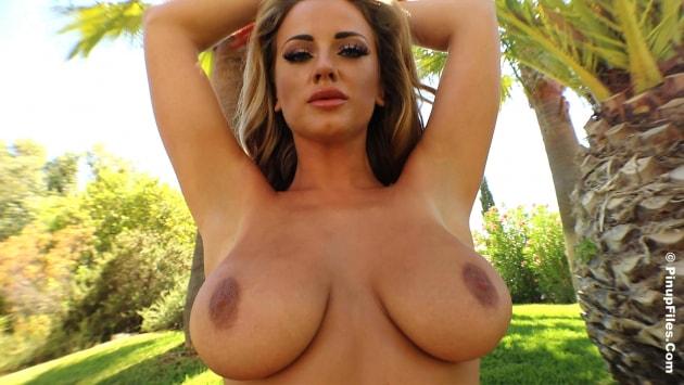 Pinupfiles Lana Parker - Pink Bikini 2  Siterip Video WEB-DL