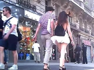 YourVoyeurVideos  Wind lifts teen skirt PaysiteRip VoyeurXXX WEB-DL