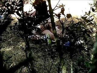 YourVoyeurVideos  Couple caught fucking in the woods PaysiteRip VoyeurXXX WEB-DL