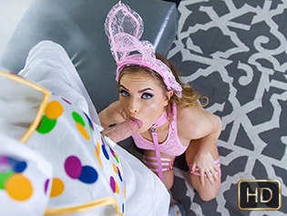 TeamSkeet Summer Brooks in Mini Easter Bunny Babe Gets Slammed - Exxxtra small  [SITERIP XXX mp4 1080p HD] WEB-DL