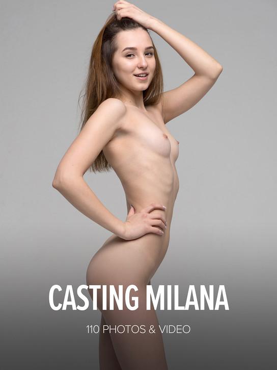 WATCH4BEAUTY MILANA in CASTING MILANA 27 MAR 2018 [IMAGESET MP16 W4B] WEB-DL
