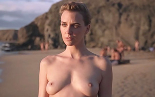 MrSkin Hannelore Knuts Gets Fully Nude on the Beach in the Invader  Siterip Videoclip PORN RIP