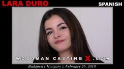 WoodmancastingX Lara Duro 33:33  [SITERIP XXX ] WEB-DL