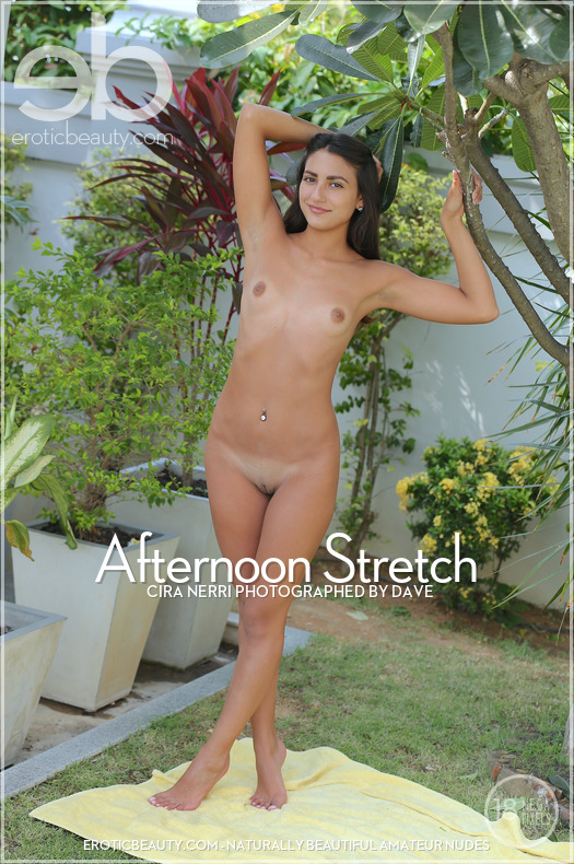 Erotic-Beauty Cira Nerri in Afternoon Stretch  Siterip Imageset Erotic-Beauty.com WEB-DL