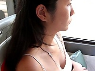 YourVoyeurVideos  Looking to the neckline Asian girl PaysiteRip VoyeurXXX WEB-DL