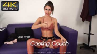 Wankitnow Jess West  Casting Couch  SITERIP VIDEO WEB-DL