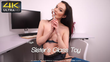 Wankitnow Faye  Sisters Glass Toy  SITERIP VIDEO WEB-DL