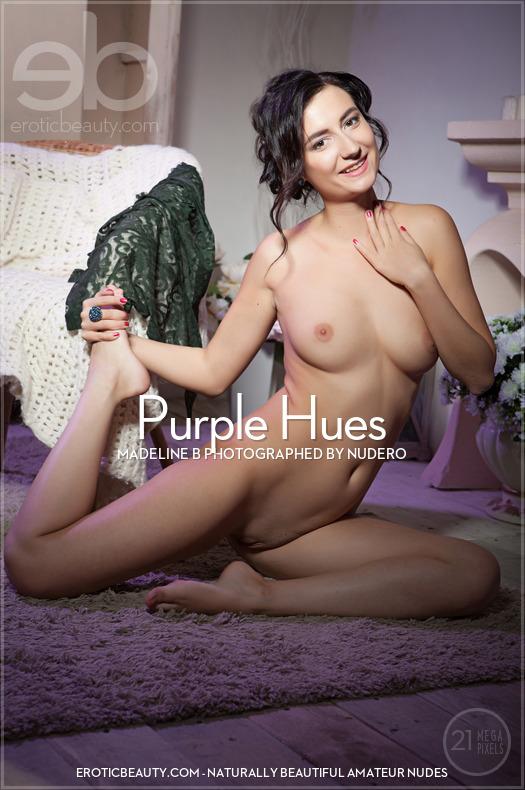 Erotic-Beauty Madeline B in Purple Hues  Siterip Imageset Erotic-Beauty.com WEB-DL
