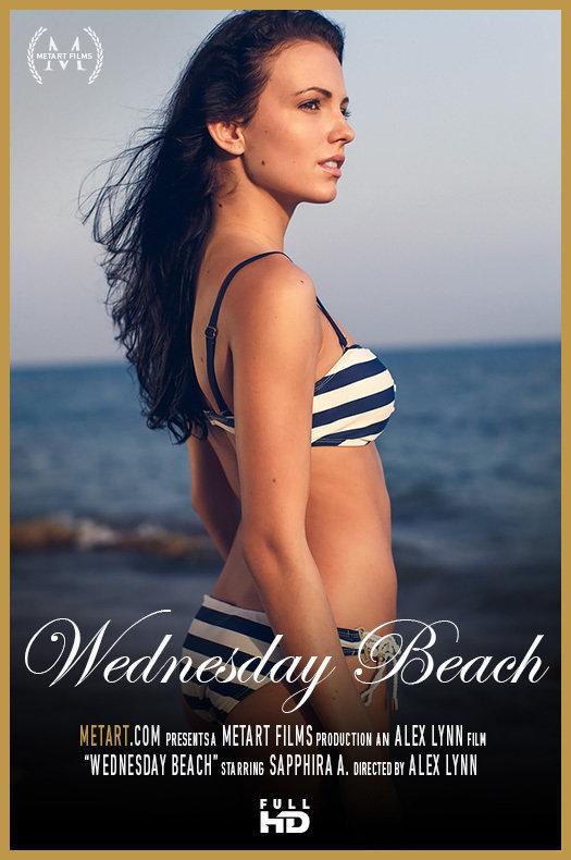 Metart Sapphira A in Wednesday Beach  [IMAGESET METARTNETWORK HD SITERIP] WEB-DL