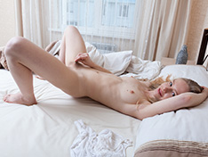 WeareHairy Alexandra Alexandra awakens to strip naked in her bed  [FULL PICSET Highres WEBRIP] WEB-DL