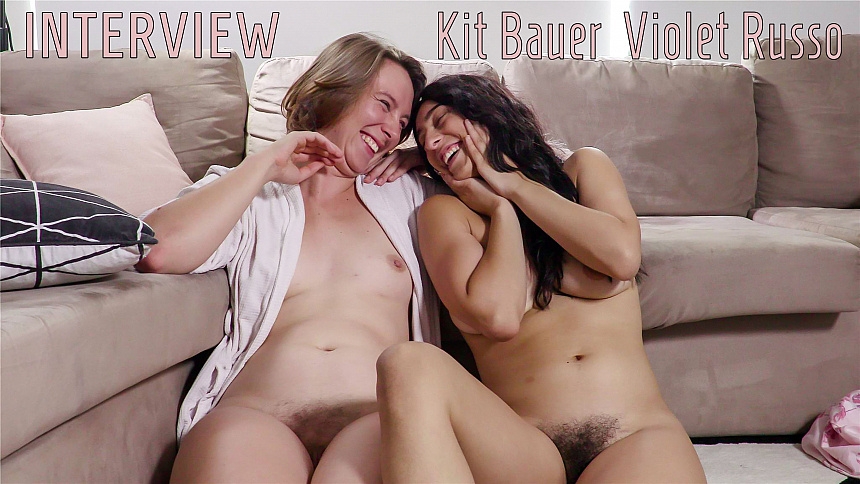 GirlsoutWest Kit Bauer & Violet Russo - Interview  Video  Siterip 720p mp4 HD PORN RIP